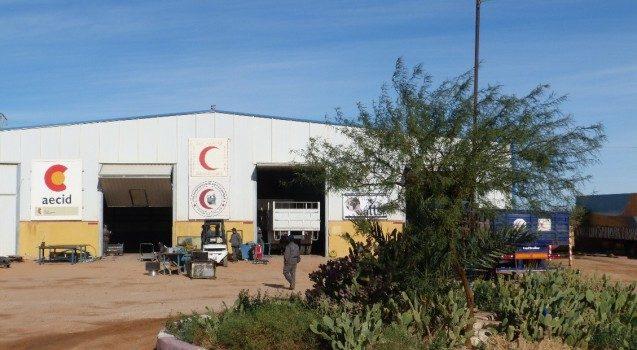 Compañeros de ATTsF llegan a los campamentos de refugiados el 4 de marzo de 2020