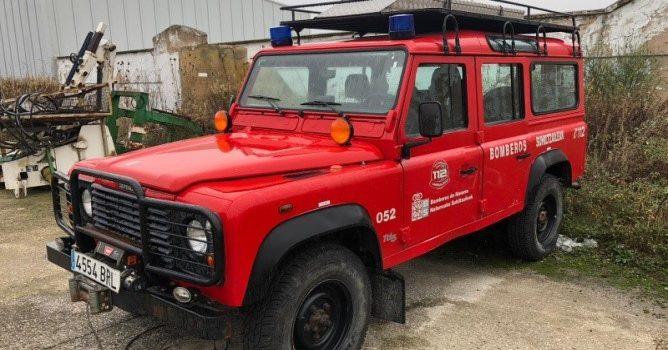 Land Rover Defender donado por el Gobierno de Navarra