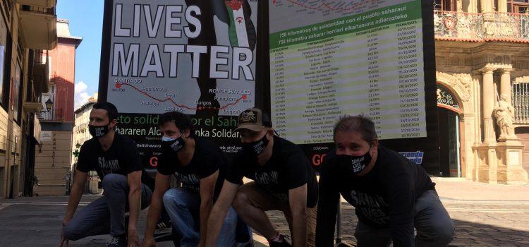 SAHRAWI LIVES MATTER, 758KM DE SOLIDARIDAD CON EL PUEBLO SAHARAUI